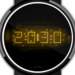 Download LED watch face | Vintage | Seventies Amber